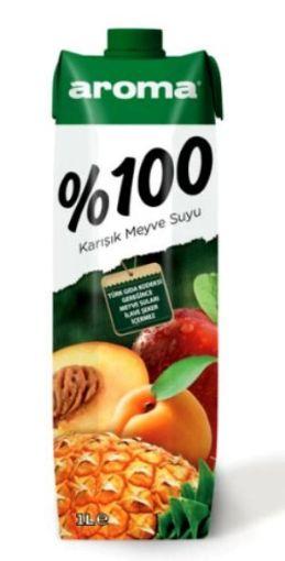 AROMA 1 LT %100 M.SUYU KARIŞIK resmi