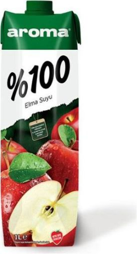 AROMA 1 LT %100 ELMA resmi