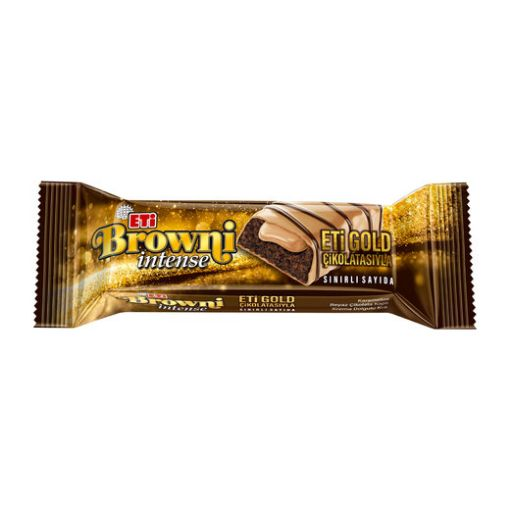 ETİ BROWNİ GOLD 48 GR İNTENSE resmi