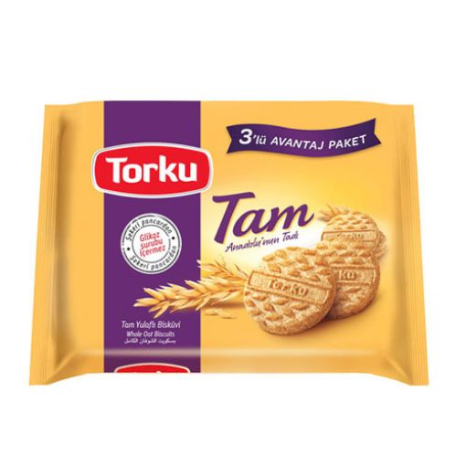 TORKU 125 GR TAM YULAFLI BİSKÜVİ resmi