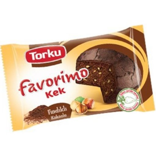 TORKU FAVORİMO KEK FINDIKLI-KAKAOLU 35 GR resmi