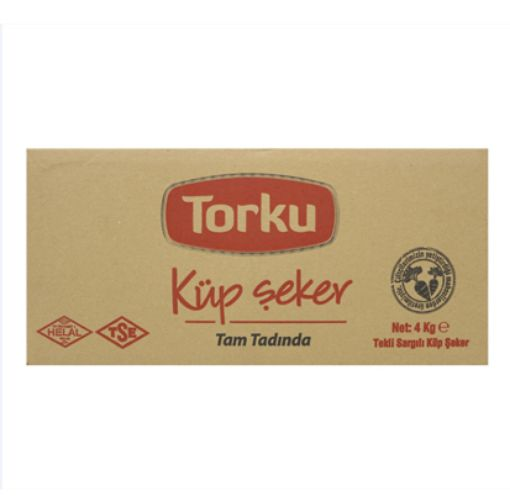 TORKU SARMA KÜP ŞEKER 4 KG resmi