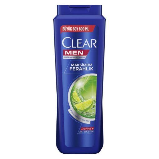 CLEAR ŞAMP. 600 ML MEN YAĞLI SAÇLAR resmi