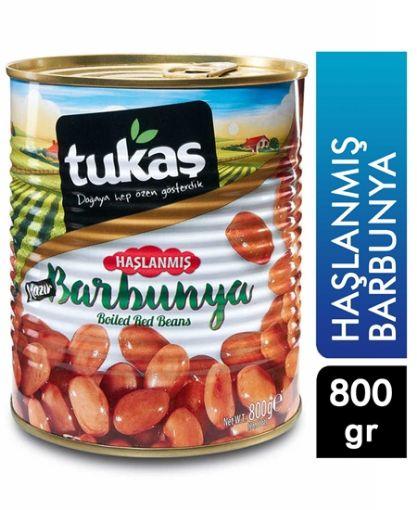 TUKAŞ HAŞLANMIŞ BARBUNYA 830 GR resmi