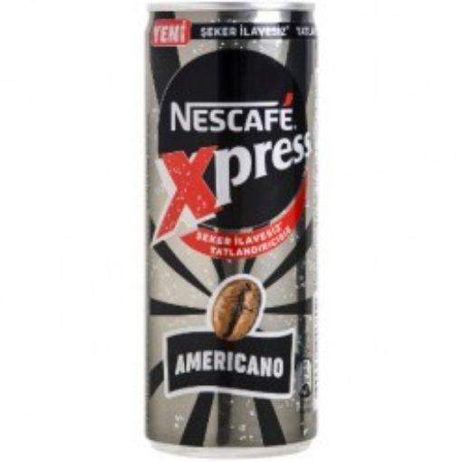 NESCAFE XPRESS 250 ML AMERİCANO ŞEKERSİZ resmi