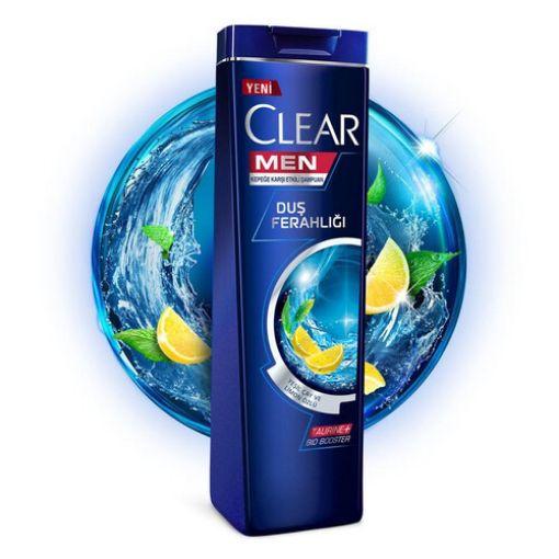 CLEAR ŞAMP. 600 ML MEN DUŞ FERAHLIĞI resmi