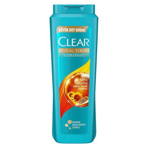 CLEAR ŞAMP. 600 ML CHİA NEM TERAPİSİ resmi