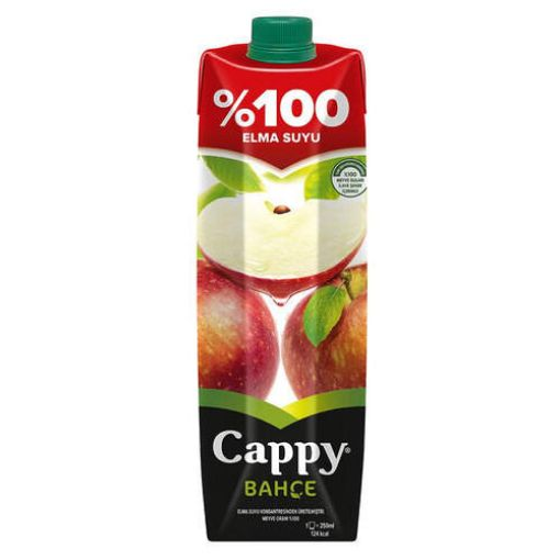 CAPPY 1 LT ELMA SUYU %100 resmi