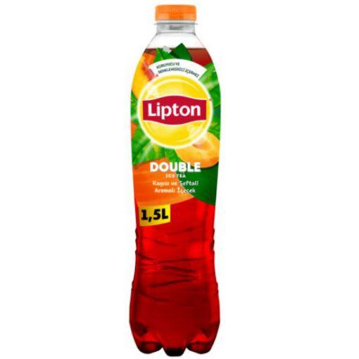 LİPTON ICE TEA 1,5 LT KAYISI-ŞEFTALİ resmi