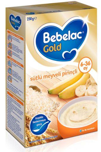 BEBELAC GOLD 250 GR SÜTLÜ MEYVELİ PİRİNÇLİ resmi