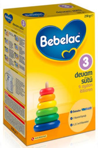 BEBELAC D.SÜTÜ 3-250 GR resmi