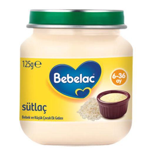 BEBELAC 125 GR SÜTLAÇ resmi