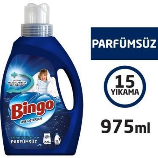 BİNGO SIVI DET. 975 ML PARFÜMSÜZ resmi