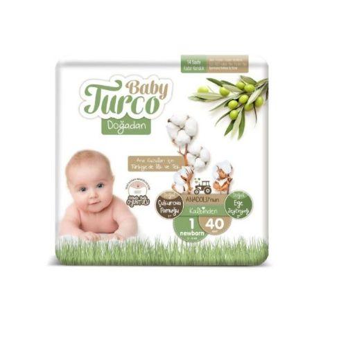 BABY TURCO DOĞADAN NO:1 NEWBORN 40 LI resmi