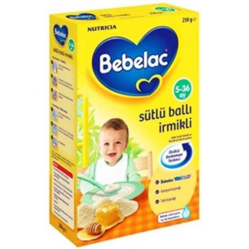 BEBELAC GOLD 250 GR SÜTLÜ BALLI İRMİKLİ resmi