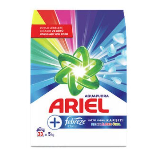 ARİEL PLUS 5 KG FEBREZE ETKISI RENKLI resmi